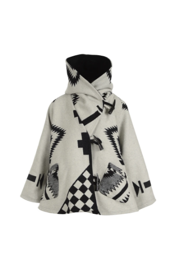 Picture of White Trench Cloak